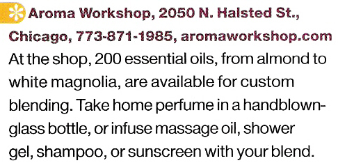 Lucky Magazine Aroma Workshop Review
